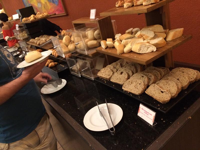 酒店提供的面包